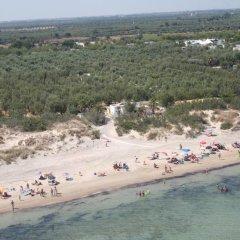 Отель Torre Rinalda Camping Village Лечче пляж фото 2