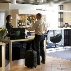 Отель Vejle Center Hotel Дания, Вайле - отзывы, цены и фото номеров - забронировать отель Vejle Center Hotel онлайн интерьер отеля