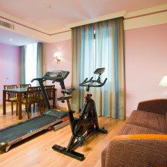 Отель Suites Gran Via 44 Apartahotel фитнесс-зал фото 2