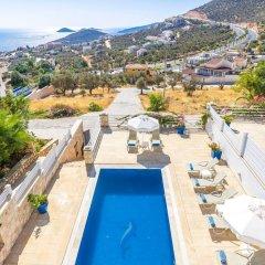 Villa Kiziltas 1 Турция, Калкан - отзывы, цены и фото номеров - забронировать отель Villa Kiziltas 1 онлайн бассейн фото 3