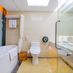 Отель Louis Hotel Zhongshan Китай, Чжуншань - отзывы, цены и фото номеров - забронировать отель Louis Hotel Zhongshan онлайн ванная