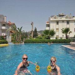 Aegean Princess Apartments And Studio Турция, Мармарис - 1 отзыв об отеле, цены и фото номеров - забронировать отель Aegean Princess Apartments And Studio онлайн бассейн