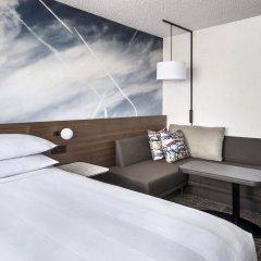 Отель Newark Liberty International Airport Marriott США, Ньюарк - отзывы, цены и фото номеров - забронировать отель Newark Liberty International Airport Marriott онлайн комната для гостей фото 2