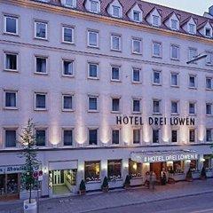 Отель Drei Loewen Hotel Германия, Мюнхен - 14 отзывов об отеле, цены и фото номеров - забронировать отель Drei Loewen Hotel онлайн вид на фасад