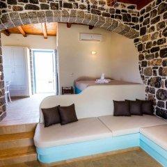 Отель H Hotel Pserimos Villas Греция, Калимнос - отзывы, цены и фото номеров - забронировать отель H Hotel Pserimos Villas онлайн комната для гостей фото 4