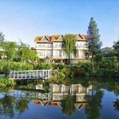 Отель Dalat Terrasse Des Roses Villa Далат приотельная территория фото 2