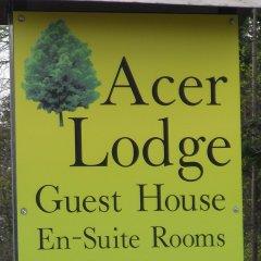 Отель Acer Lodge Guest House Эдинбург парковка