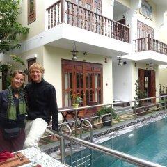 Отель Truc Huy Villa бассейн