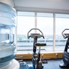 Отель Comwell Hvide Hus Aalborg Дания, Алборг - отзывы, цены и фото номеров - забронировать отель Comwell Hvide Hus Aalborg онлайн фитнесс-зал фото 3
