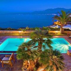Отель Aegean Blue Villa пляж