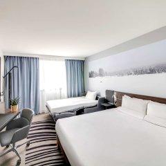 Отель Novotel Montparnasse Париж комната для гостей фото 2