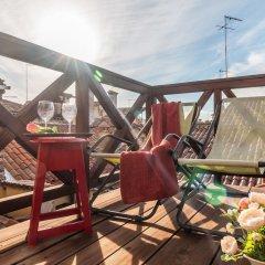 Отель Rialto Rooftop Terrace Loft Италия, Венеция - отзывы, цены и фото номеров - забронировать отель Rialto Rooftop Terrace Loft онлайн балкон