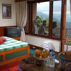 Отель Dhulikhel Lodge Resort Непал, Дхуликхел - отзывы, цены и фото номеров - забронировать отель Dhulikhel Lodge Resort онлайн комната для гостей фото 5
