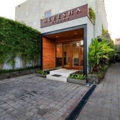Отель Aleesha Villas парковка