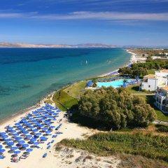 Отель Neptune Hotels Resort and Spa Греция, Калимнос - отзывы, цены и фото номеров - забронировать отель Neptune Hotels Resort and Spa онлайн пляж фото 2