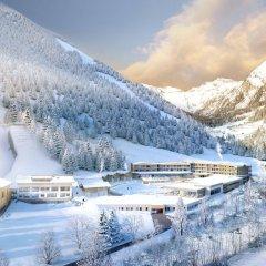 Отель Feuerstein Nature Family Resort Горнолыжный курорт Ортлер спортивное сооружение