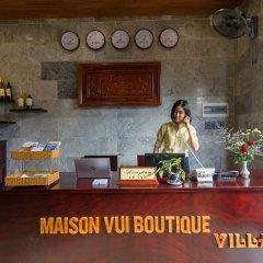 Отель Maison Vui Boutique Villa интерьер отеля фото 2