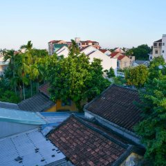 Vaia Boutique Hotel Hoi An балкон