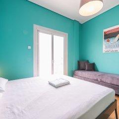 Апартаменты Athens Penthouse Paradise Apartment комната для гостей фото 2
