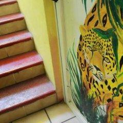 Отель Tres Mundos Hostel Мексика, Плая-дель-Кармен - отзывы, цены и фото номеров - забронировать отель Tres Mundos Hostel онлайн сауна