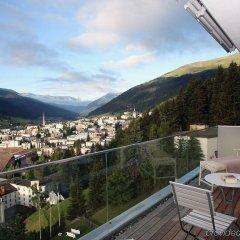 Отель Waldhotel Davos Швейцария, Давос - отзывы, цены и фото номеров - забронировать отель Waldhotel Davos онлайн балкон
