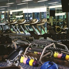 Отель Crowne Plaza Changi Airport фитнесс-зал фото 4