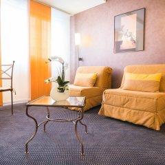 Отель Best Western Adagio Франция, Сомюр - отзывы, цены и фото номеров - забронировать отель Best Western Adagio онлайн комната для гостей фото 2