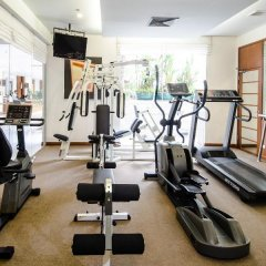 Отель At Ease Saladaeng фитнесс-зал фото 4