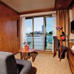 Отель Crossgates Hotelship 4 Star - Medienhafen - Düsseldorf комната для гостей фото 2