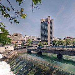 Отель Zurich Marriott Hotel Швейцария, Цюрих - отзывы, цены и фото номеров - забронировать отель Zurich Marriott Hotel онлайн бассейн фото 2