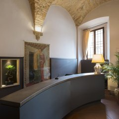 Отель Leon Bianco Италия, Сан-Джиминьяно - отзывы, цены и фото номеров - забронировать отель Leon Bianco онлайн интерьер отеля