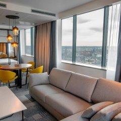 Отель Courtyard by Marriott Katowice City Center комната для гостей фото 4
