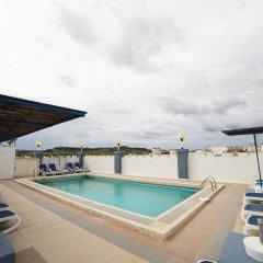 Отель Coral Hotel Мальта, Сан-Пауль-иль-Бахар - 2 отзыва об отеле, цены и фото номеров - забронировать отель Coral Hotel онлайн бассейн фото 3