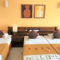 Отель Induruwa Beach Resort Шри-Ланка, Бентота - отзывы, цены и фото номеров - забронировать отель Induruwa Beach Resort онлайн комната для гостей фото 5