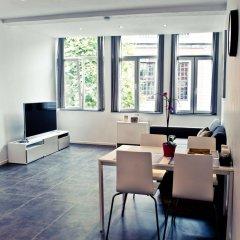Отель Appart-Hotel Léopold Liège Centre Бельгия, Льеж - отзывы, цены и фото номеров - забронировать отель Appart-Hotel Léopold Liège Centre онлайн комната для гостей фото 3