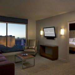 Отель Elara by Hilton Grand Vacations - Center Strip США, Лас-Вегас - 8 отзывов об отеле, цены и фото номеров - забронировать отель Elara by Hilton Grand Vacations - Center Strip онлайн комната для гостей фото 9