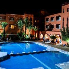 Отель Hôtel Farah Al Janoub Марокко, Уарзазат - отзывы, цены и фото номеров - забронировать отель Hôtel Farah Al Janoub онлайн бассейн фото 2