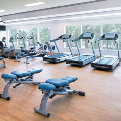 Отель Sheraton Jumeirah Beach Resort фитнесс-зал