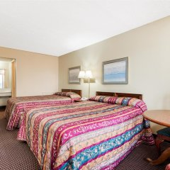Отель Knights Inn-columbus Колумбус комната для гостей фото 2