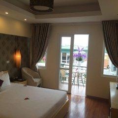Отель Hanoi Impressive Hotel Вьетнам, Ханой - отзывы, цены и фото номеров - забронировать отель Hanoi Impressive Hotel онлайн комната для гостей фото 5