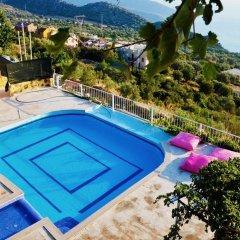 Villa MNM Турция, Калкан - отзывы, цены и фото номеров - забронировать отель Villa MNM онлайн бассейн фото 3