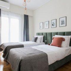 Отель UPSTREET Charming & Comfy 2BD Apt-Acropolis Афины комната для гостей