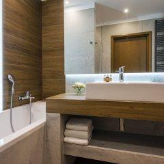 Отель Patio Польша, Вроцлав - отзывы, цены и фото номеров - забронировать отель Patio онлайн ванная фото 5