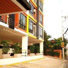 Отель The All 24 Luxury Residence Бангкок парковка
