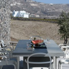 Отель Samsara - Santorini Luxury Retreat Греция, Остров Санторини - отзывы, цены и фото номеров - забронировать отель Samsara - Santorini Luxury Retreat онлайн питание фото 2
