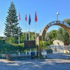 Отель Altinkum Bungalows парковка