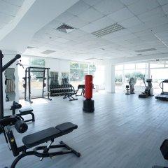 Отель Fontane Bianche Beach Club Фонтане-Бьянке фитнесс-зал