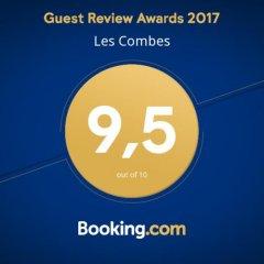 Отель Les Combes Ла-Саль с домашними животными