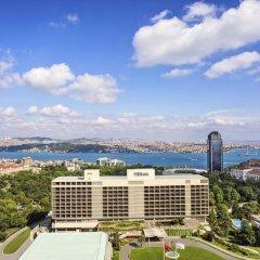 Hilton Istanbul Bosphorus Турция, Стамбул - 5 отзывов об отеле, цены и фото номеров - забронировать отель Hilton Istanbul Bosphorus онлайн пляж фото 2