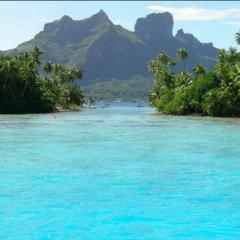 Отель Sunset Hill Lodge Французская Полинезия, Бора-Бора - отзывы, цены и фото номеров - забронировать отель Sunset Hill Lodge онлайн пляж